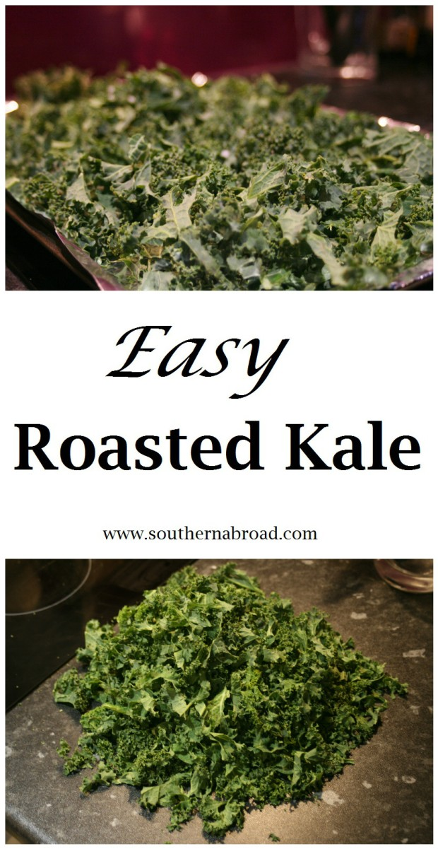 Easy Roasted Kale