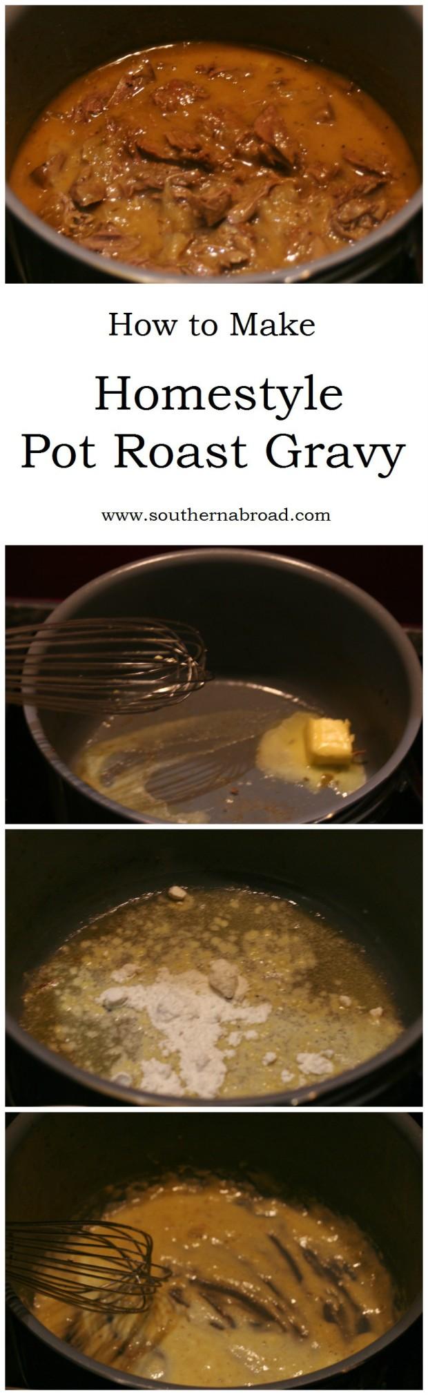 Pot Roast Gravy Recipe