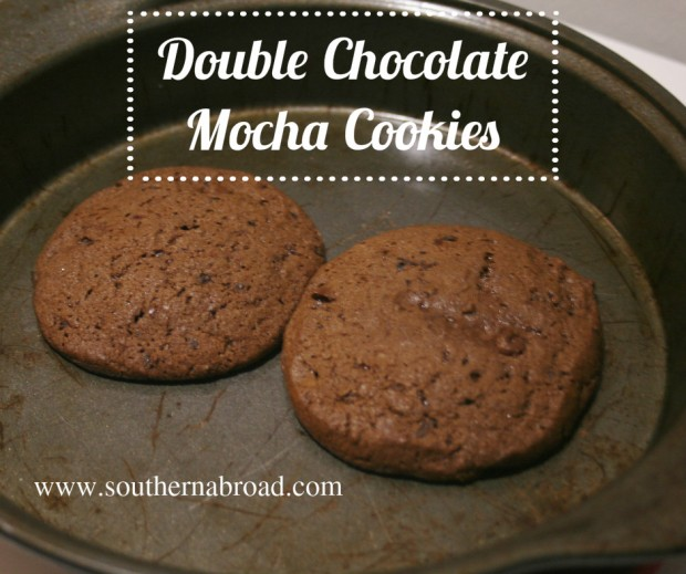 Double Chocolate Mocha Cookies