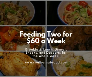 Feeding Two for $60 a Week