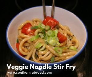 Veggie Noodle Stir Fry