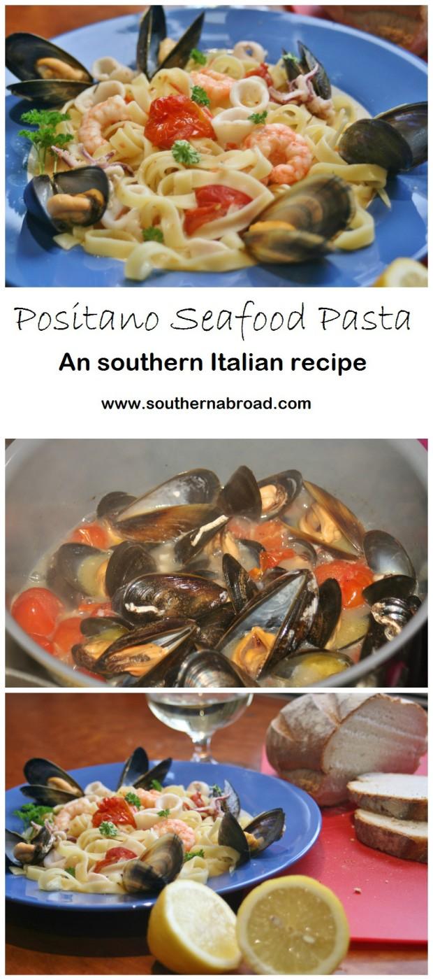 Positano Seafood Pasta
