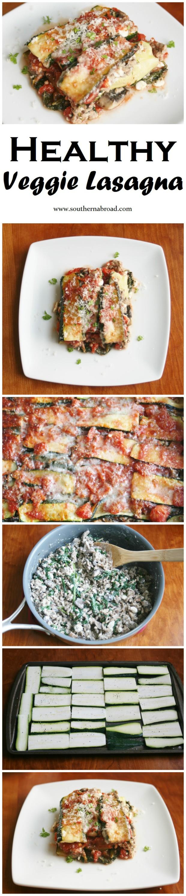 Healthy Veggie Lasagna